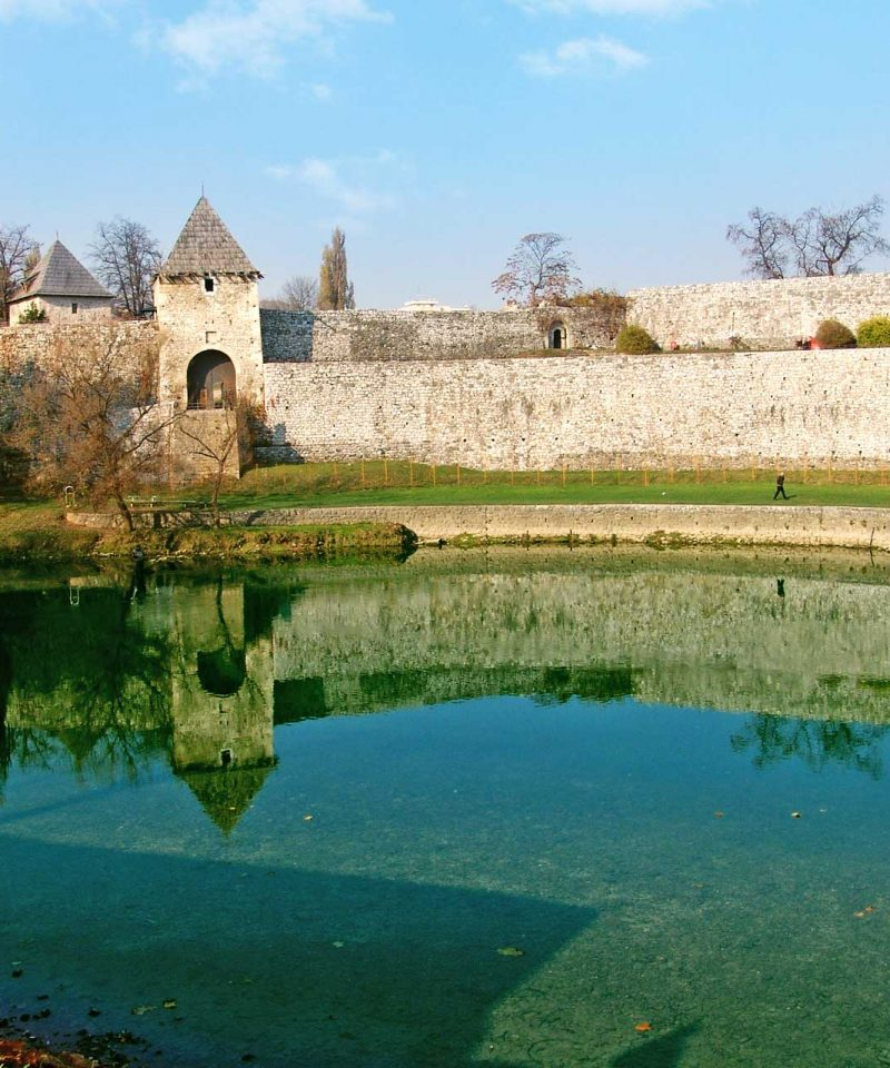 Banja Luka - Kastel Fortress by the Vrbas river